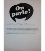 On parle! Assessment Pkg.